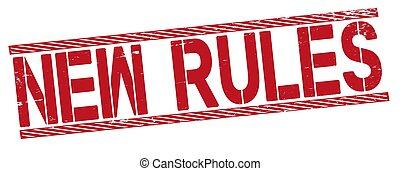 fond, blanc rouge, timbre, -, texte, règles, caoutchouc, nouveau, mot