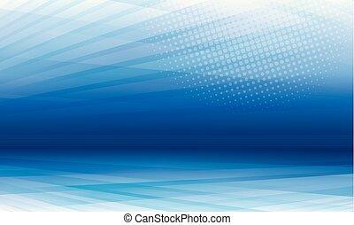fond, bleu, moderne, résumé, perspective