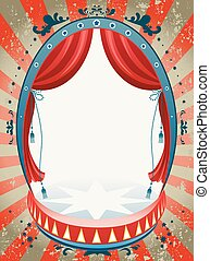 fond, cirque, vendange