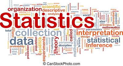 fond, concept, statistiques