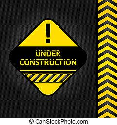 fond, construction, noir, velours côtelé, sous