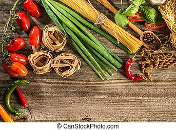 fond, italien nourriture