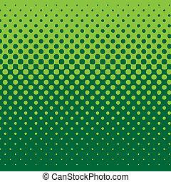 fond, linéaire, halftone, tonalité verte