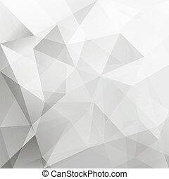 fond, résumé, vecteur, triangle