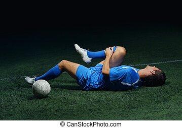 football, blessure