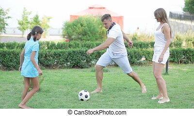 football, famille