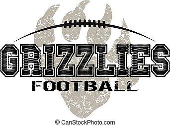 football, grizzlys