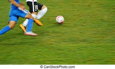 football, professionnel, jeu