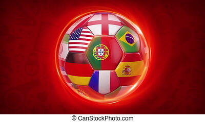 football, russie, 2018, équipes, international