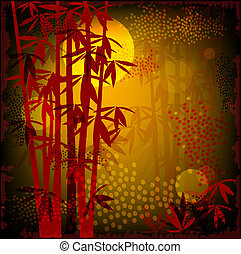 forêt bambou