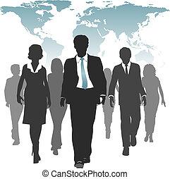 force, professionnels, travail, humain, mondiale, ressources