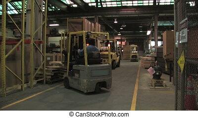 forklifts, usine