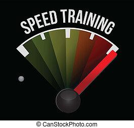 formation, concept, vitesse