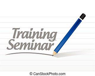 formation, message, séminaire