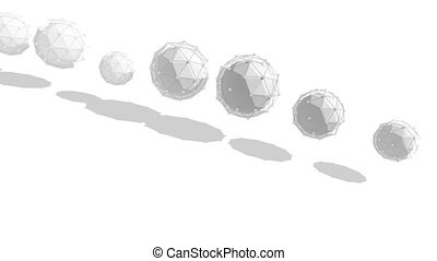 """formation, sphères, rotation, """"abstract, circle"""""""