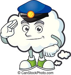 forme., bulle, mascotte, police, dessin animé, nuage