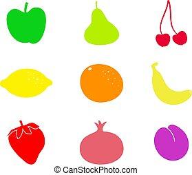 formes, fruit