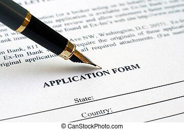 formulaire demande