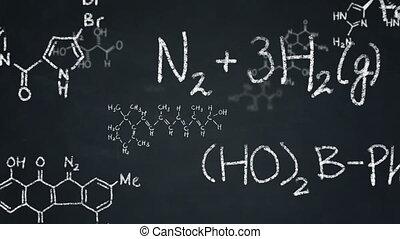 formules, chimie, tableau