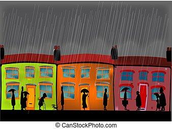 forte pluie