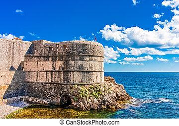 fortification, dubrovnik