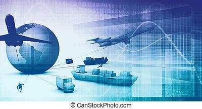 fourniture, chaîne, analytics