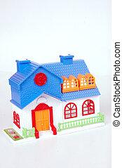 foyer bleu, jouet