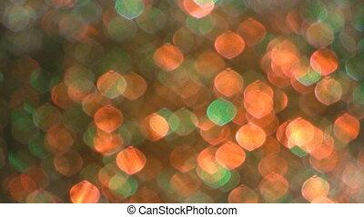 foyer., doux, disco, lumière, effect.
