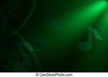 fréquence, audio, son, vague