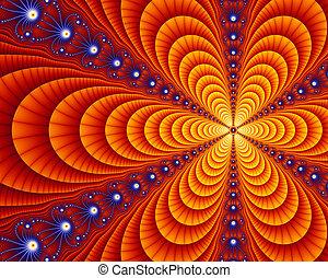 fractal, art, julia, deco