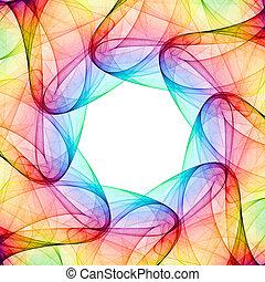 fractal, kaléidoscope