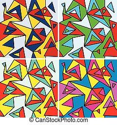fragments, cubisme
