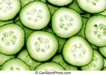 frais, concombre
