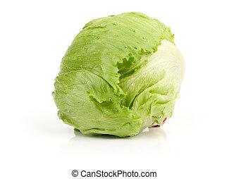 frais, iceberg, vert