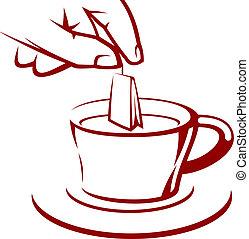 frais, thé