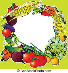 frame., légumes