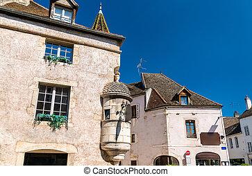 francais, beaune, architecture, bourgogne
