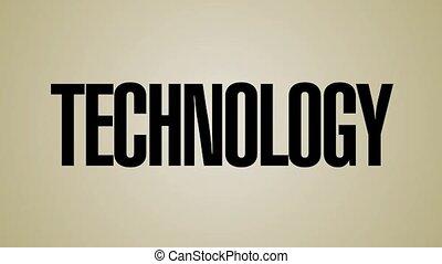 frapper, technologie, mots, hd