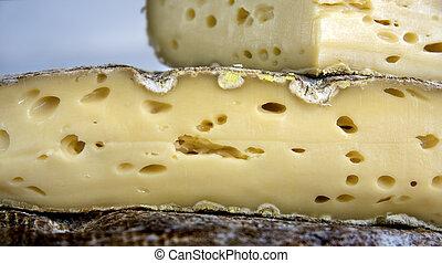 fromage, section, croix, francais