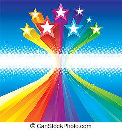 froussard, celebratory, étoiles