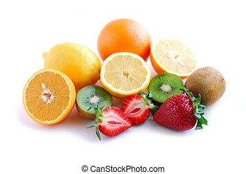 fruit, assorti