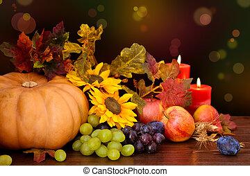 fruits, automnal, vegetables.