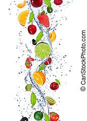 fruits, frais