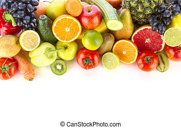 fruits, légumes frais
