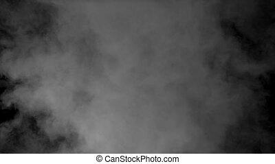fumée, écran, arrière-plan., render, 3d, alpha, mat, mouvement, remplissage, animation