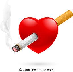 fumer, tuer, coeur