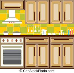 furniture., cuisine