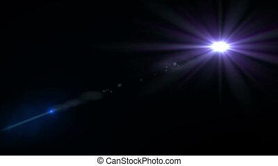 fusée objectif, arrière-plan noir, numérique