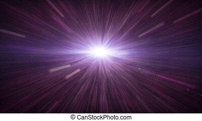 fusée objectif, espace