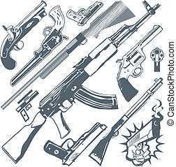 fusil, collection